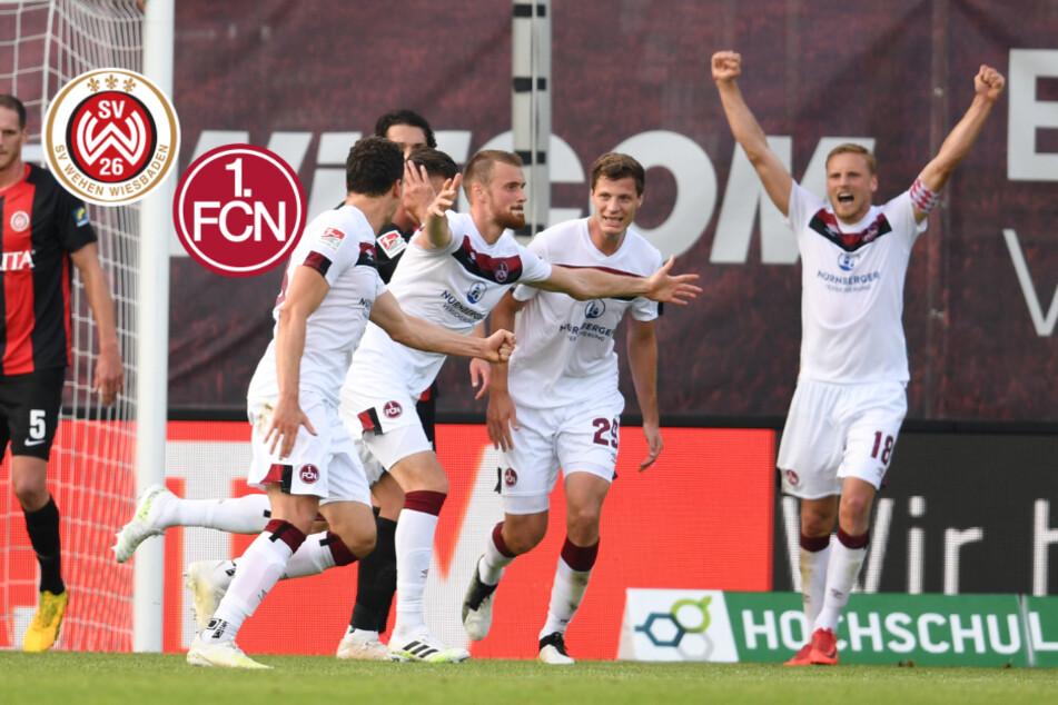 6:0! 1. FC Nürnberg schießt Wiesbaden ab und sich aus der Krise