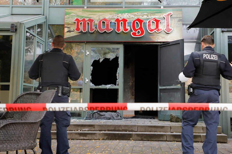 Brandanschlag auf türkisches Lokal in Chemnitz: Belohnung ausgesetzt