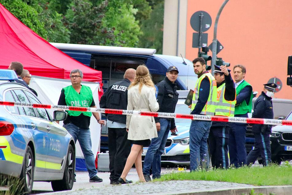 Tötung auf offener Straße in Regensburg: Mutmaßlicher Täter schweigt