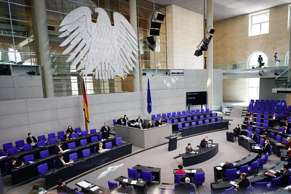 Das Plenum des Bundestags: Das Parlament der Bundesrepublik Deutschland wird am 26. September neu gewählt.