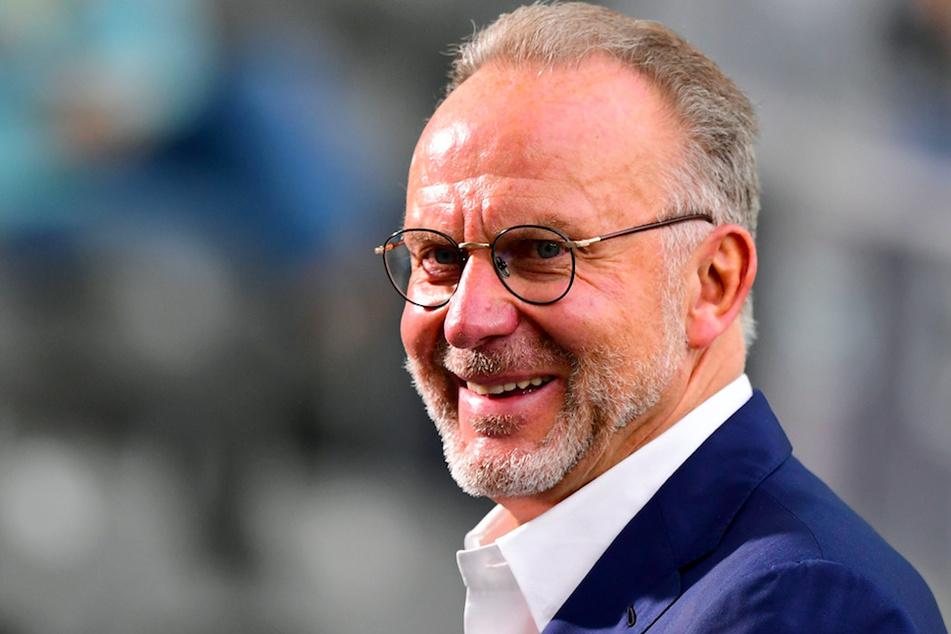 Bayern Vorstandschef Karl-Heinz Rummenigge (64) befürwortet das Vorhaben der UEFA.