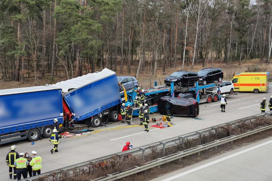 Am Stauende geschah in der Folge ein ebenso tragischer Unfall, bei dem ein Mensch tödlich verletzt wurde.