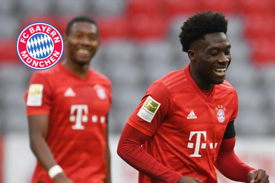 Shootingstar der Bayern: Alphonso Davies war diesem Spitzenklub wohl nicht genug wert