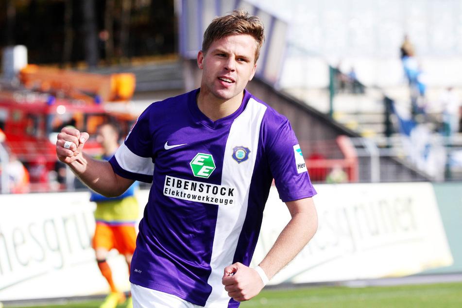 Guido Kocer (32) spielte von 2011 bis 2014 für den FC Erzgebirge Aue, lief in dieser Zeit 84 Mal für die Veilchen auf, schoss neun Tore und gab zwölf Vorlagen.