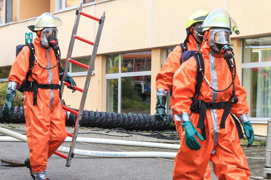 An der Frankenklinik in Bad Kissingen ist am Freitagmorgen giftiges Chlorgas ausgetreten.