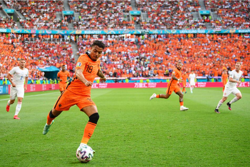 Donyell Malen (22) kam bei der Europameisterschaft viermal für die Niederlande zum Einsatz, konnte das überraschende Ausscheiden gegen Tschechien im Achtelfinale aber auch nicht verhindern.