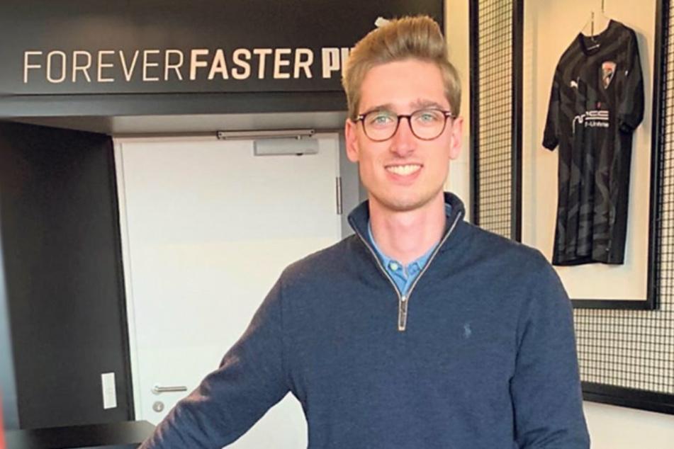 FSV-Marketingleiter Marvin Klotzkowsky will mit den Zwickauer Spielern Ideen entwickeln, wie man in der aktuellen Situation helfen kann.