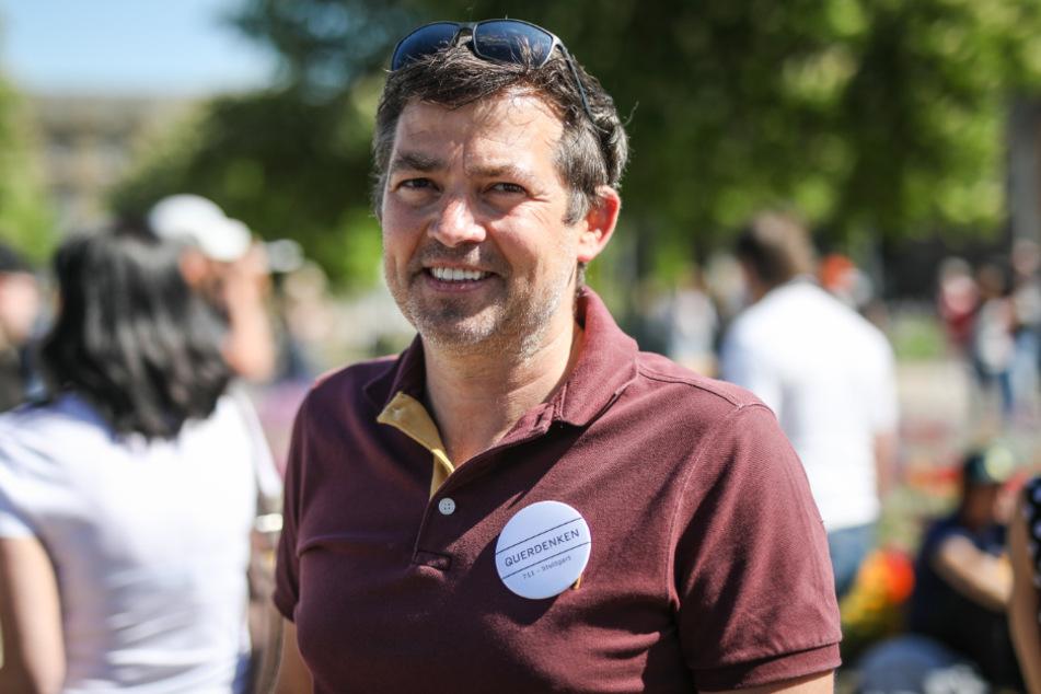 """Unternehmer Michael Ballweg gründete die """"Querdenken""""-Initiative."""