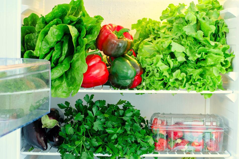 Zu viel Licht und Wärme schadet der Haltbarkeit des Salats.