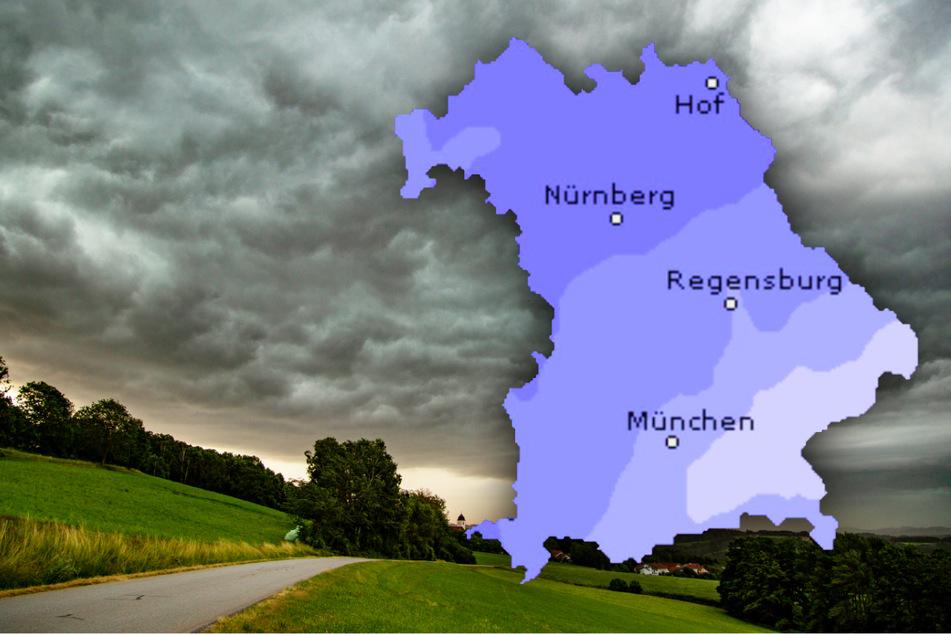 Starkregen und Sturm! In Bayern wird es richtig ungemütlich