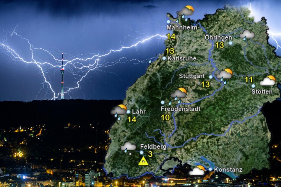 Nach kurzem Frühling: Blitz und Sturm im Ländle!