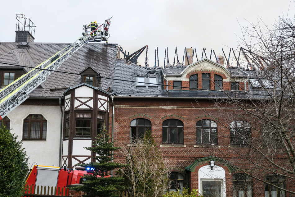 Gasthof in Flammen: 200.000 Euro Schaden!