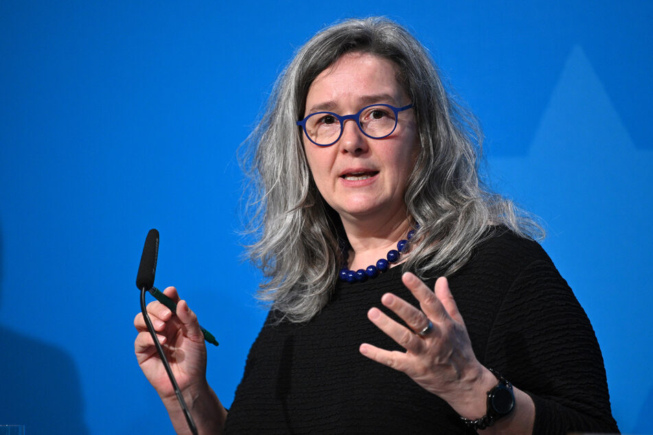 Gesundheitsministerin Heike Werner informierte über die Lage in Thüringen.