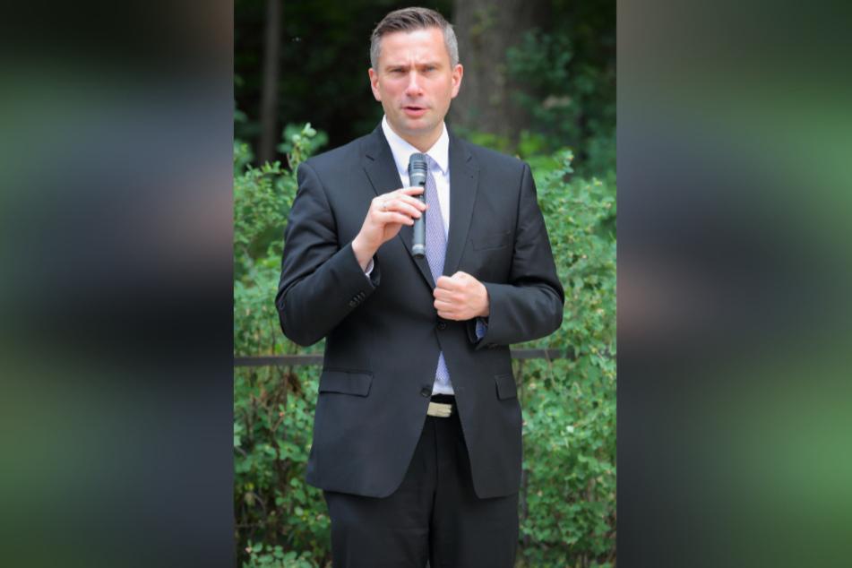 Verkehrsminister Martin Dulig (46, SPD).