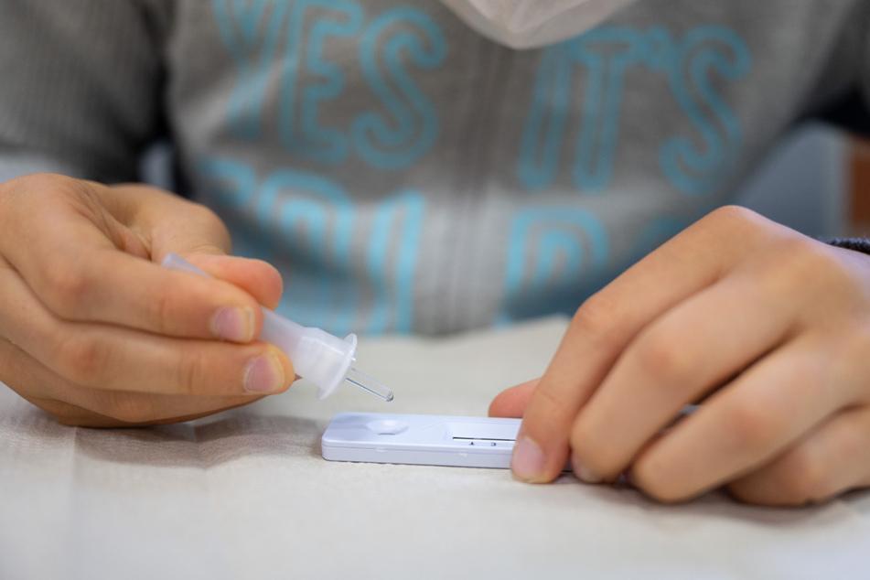 Tschechien wird vorerst keine Corona-Test an Schulen durchführen lassen.