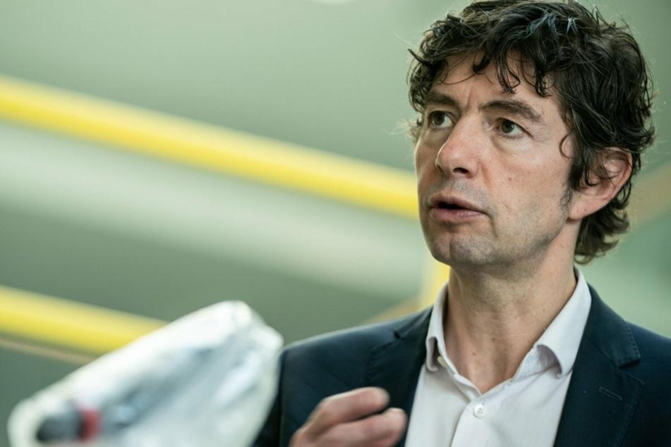 Christian Drosten (48), Direktor des Instituts für Virologie an der Charite, Universitätsmedizin Berlin.
