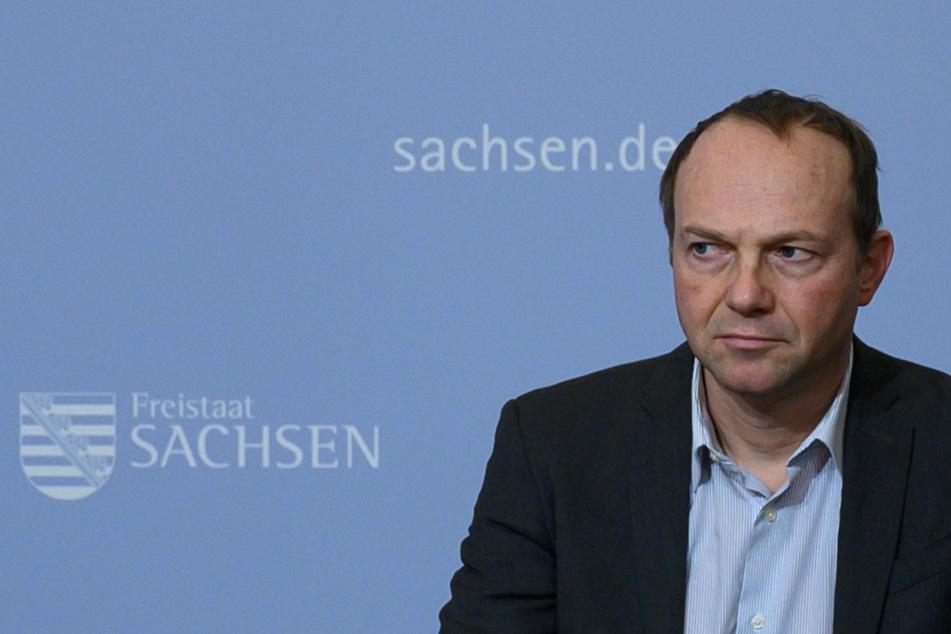 Wolfram Günther (47, Bündnis 90/Die Grünen), Umweltminister von Sachsen.
