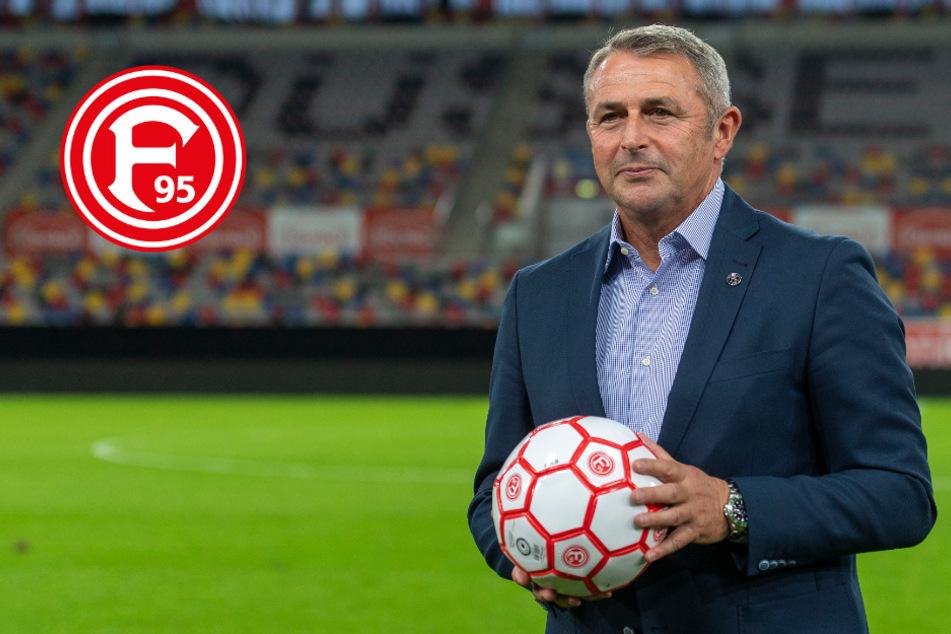 Klaus Allofs hat große Ziele mit Fortuna Düsseldorf