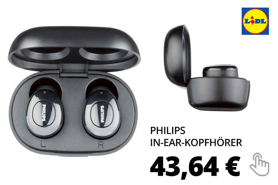 PHILIPS True-Wireless-In-Ear-Kopfhörer