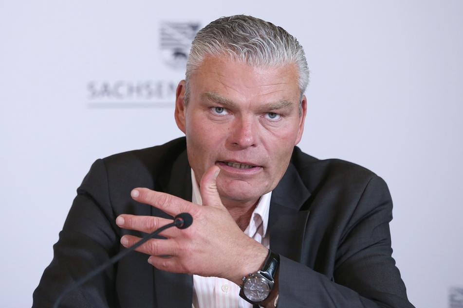 Sachsen-Anhalts Innen- und Sportminister Holger Stahlknecht (CDU).