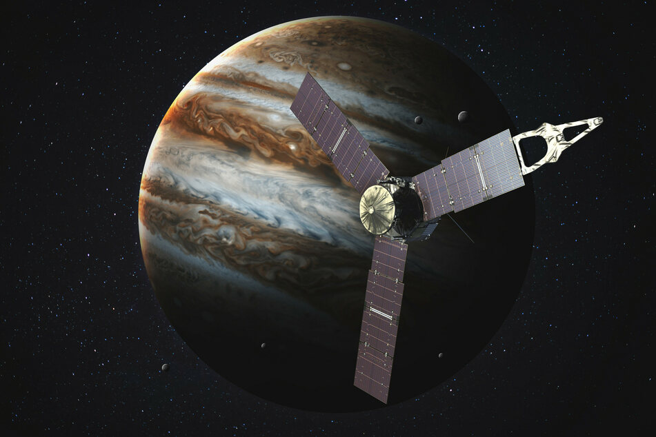 The Juno spacecraft has been orbiting Jupiter since 2011.