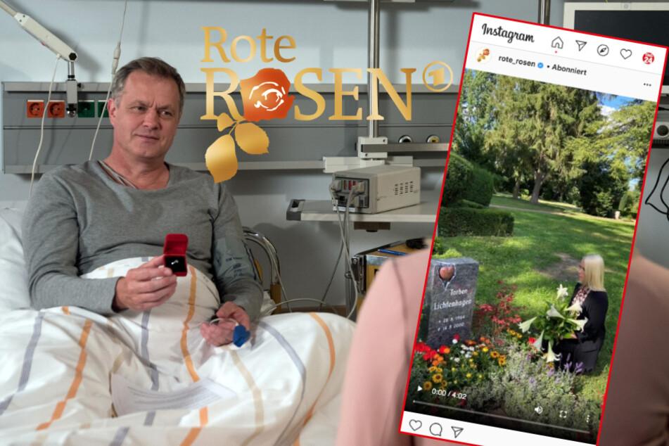 """Rote Rosen: Tränen-Alarm! """"Rote Rosen"""" erinnert an Liebe von Amelie und Torben"""