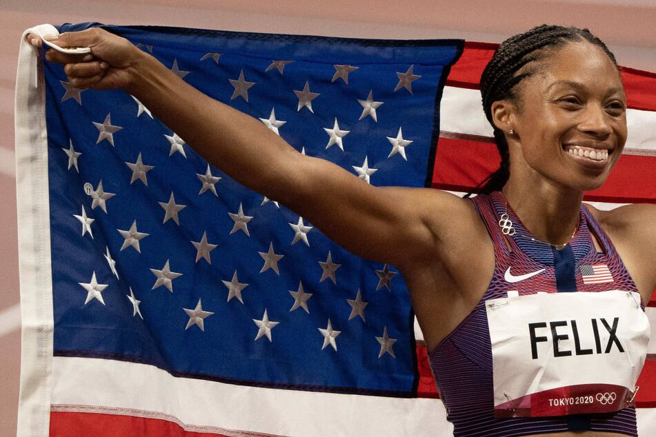 Allyson Felix runs her way into Olympic history while Team USA duels Jamaica again