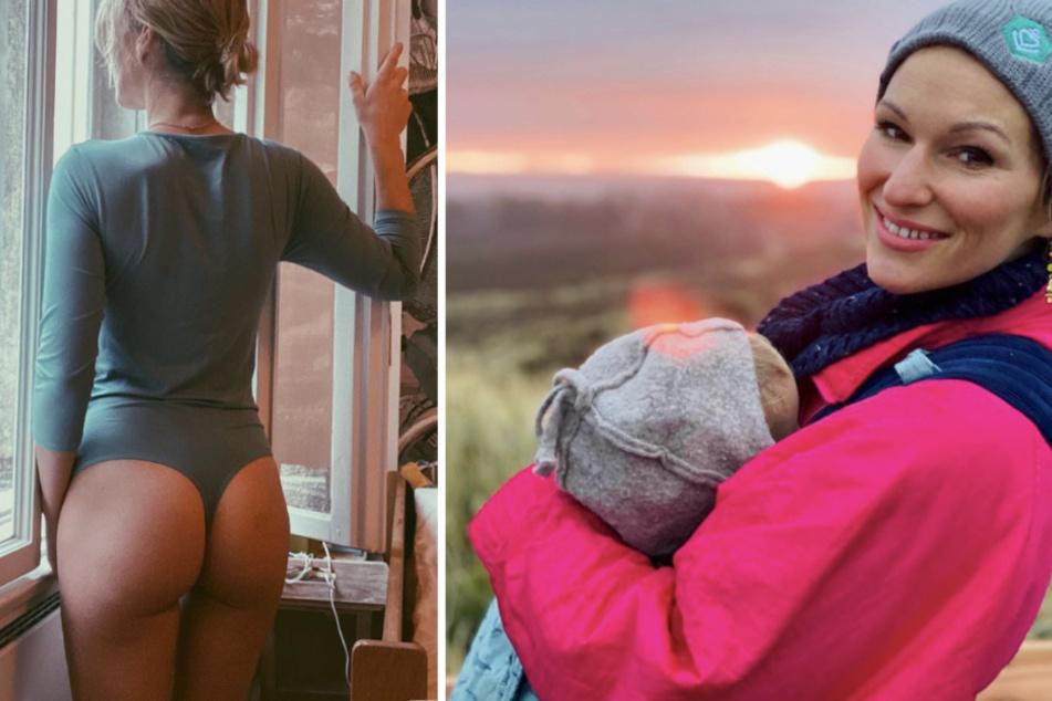Janni Hönscheid wehrt sich nach Nippel-Bild mit Popo-Foto