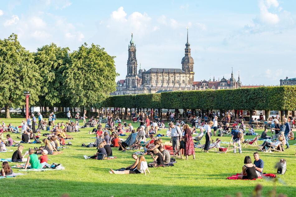 Der Dresdner Palaissommer findet auch dieses Jahr wieder im Park am Japanischen Palais statt.