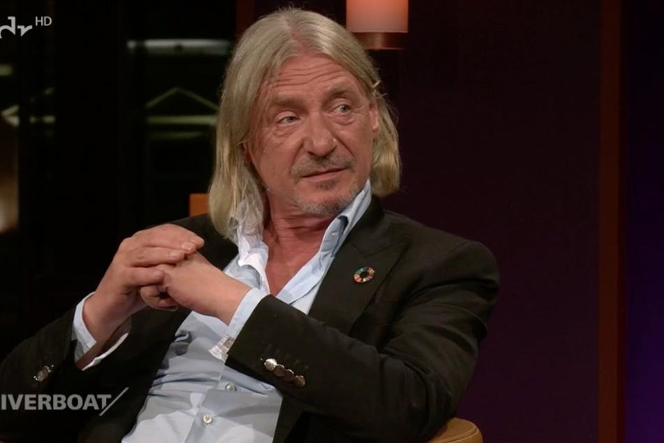 Frank Otto (64) ließ im Riverboat seine Kindheit Revue passieren.
