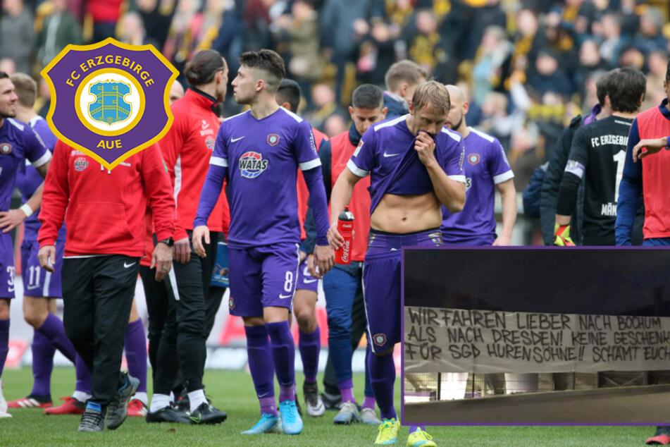 """""""Wir fahren lieber nach Bochum ..."""" Fan-Frust in Aue nach Derby-Pleite"""