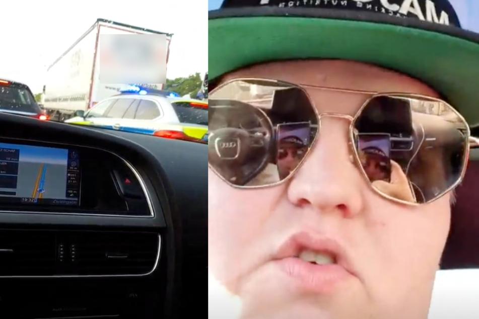 Exsl95 steht im Stau, regt sich auf und hat einen wichtigen Appell an Autofahrer