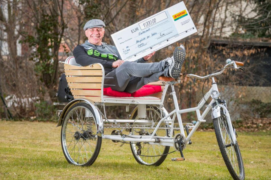 Stefan Bräuer hat sich die 1.000 Euro Helden-Prämie verdient!