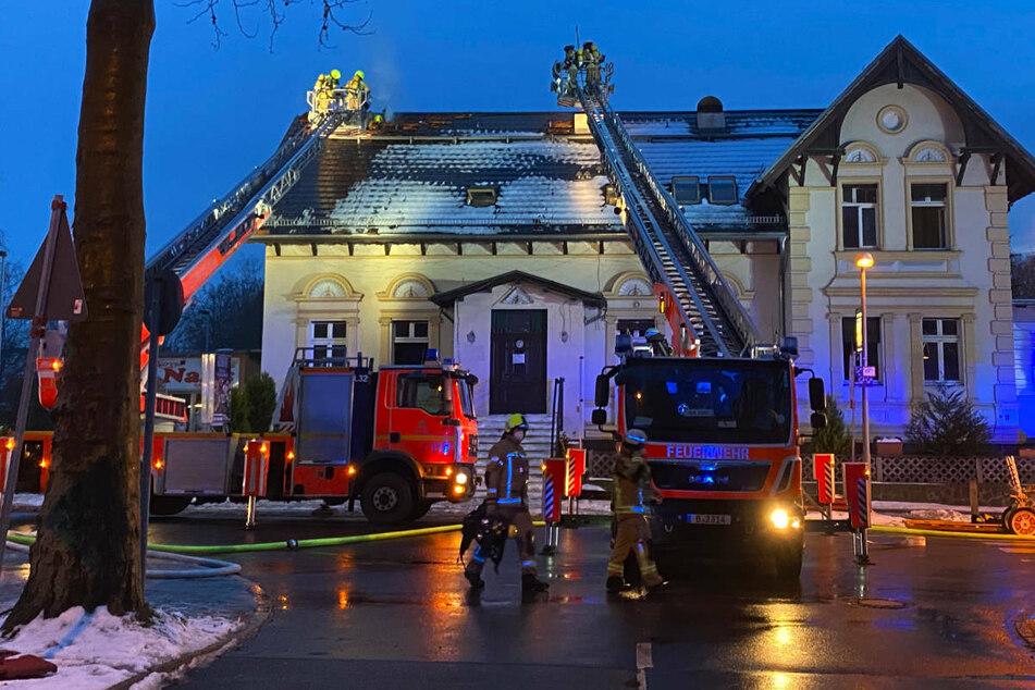 In einem Restaurant im Ortsteil Karow im Nordosten von Berlin ist am Dienstagabend ein Brand ausgebrochen.