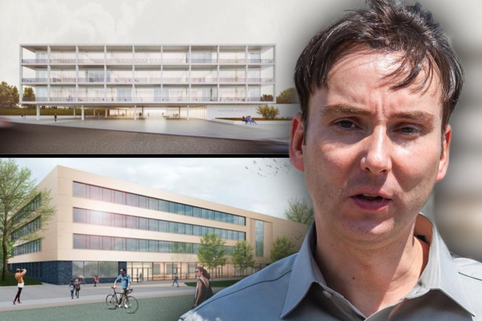 Einfallslose Klötze? Immobilien-Experte kritisiert Schulneubau-Architektur in Chemnitz