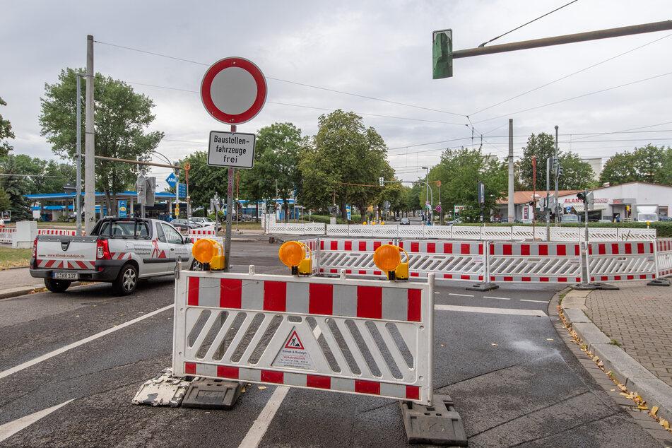 Auf den Straßen Chemnitz wird viel gebaut. (Archivbild)