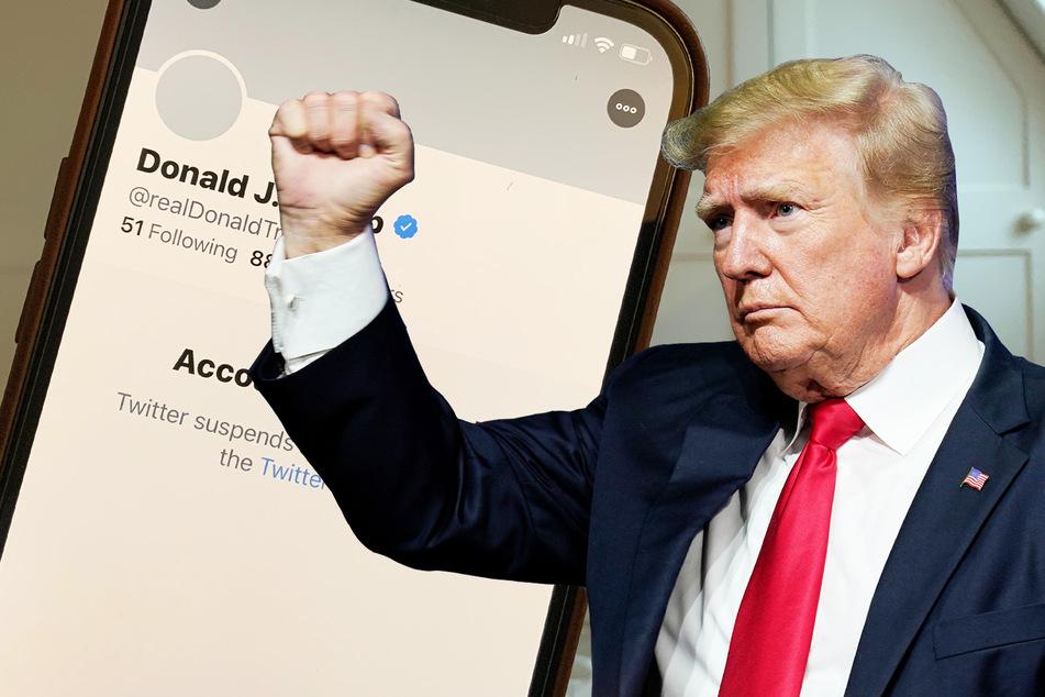 Auf Twitter gesperrt: Donald Trump will gegen Internet-Riesen klagen
