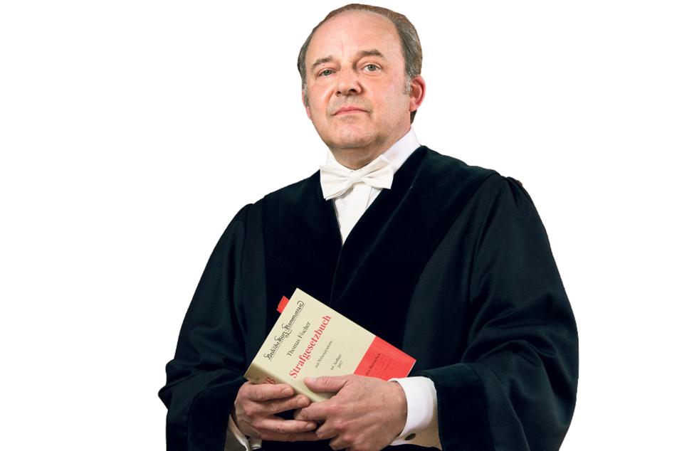 Richter Dirk Hertle (57) verhängte eine Haftstrafe.