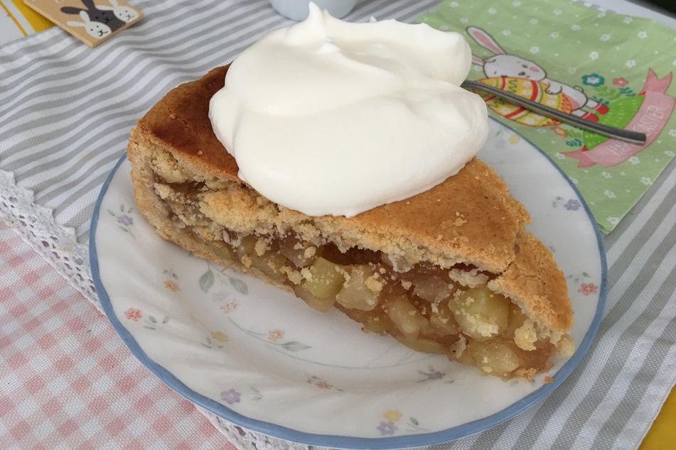 Leckere Kalorienbombe: Mit diesem Stück Kuchen fing alles an.