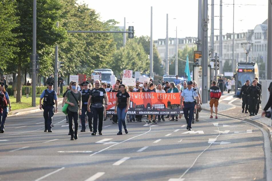 Die Bürgerbewegung will am Montag vom Richard-Wagner-Platz über den Ring und zurück marschieren.