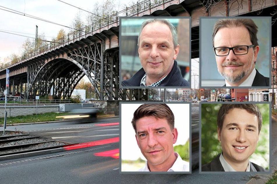 Protest gegen Abriss des Chemnitzer Viadukts wächst