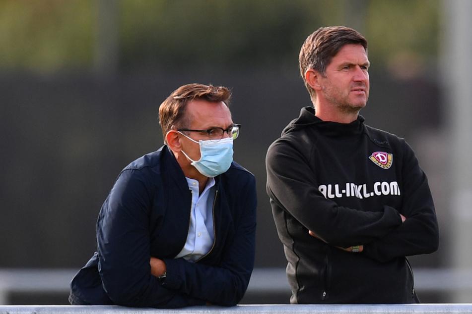 Ralf Becker (r.) wurde zum 1. Juli neuer Sport-Geschäftsführer, sein Finanz-Pendant Michael Born (l.) wurde im September überraschend geschasst.