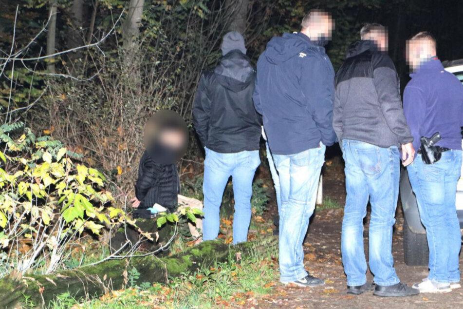 Die Polizei konnte einen Mann festnehmen.
