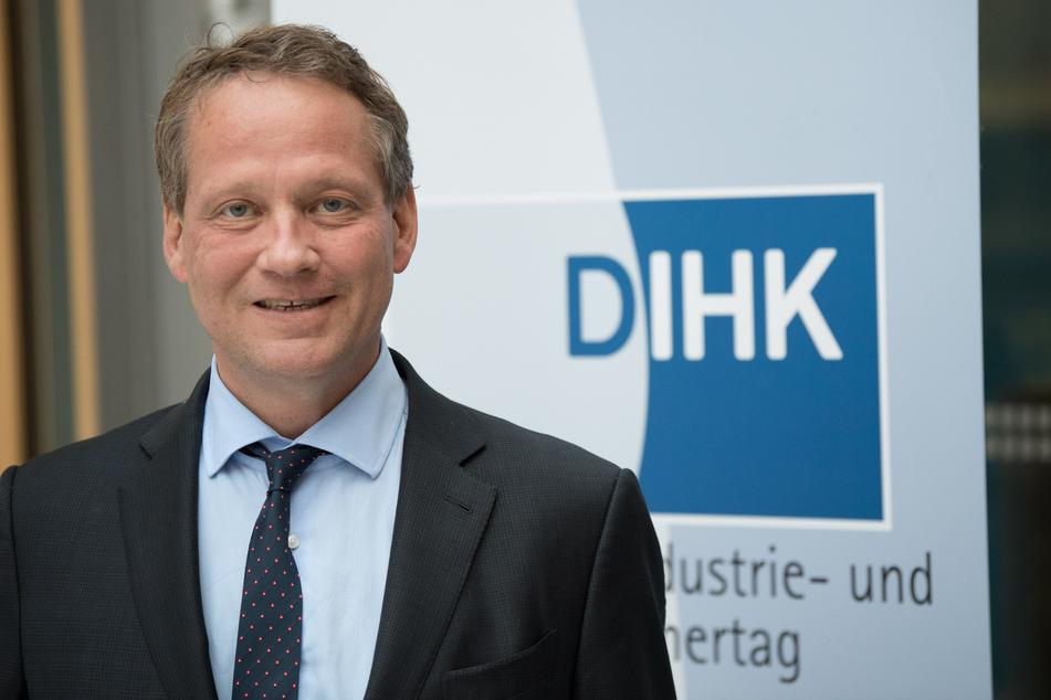 Der Präsident des Deutschen Industrie- und Handelskammertages Eric Schweitzer. (Archivbild)