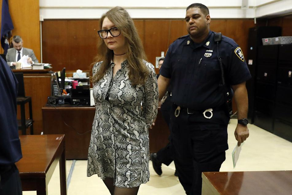 Anna bei ihrem Prozess im April 2019.