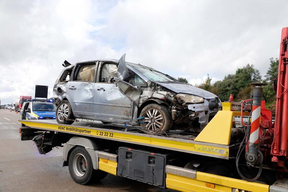 Der Ford erlitt einen Totalschaden.