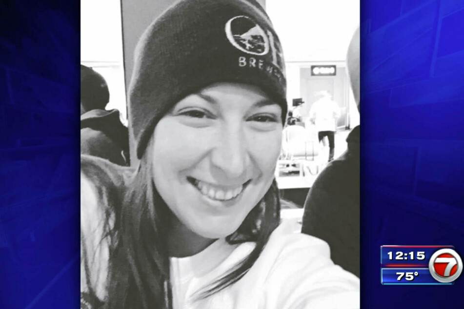 Ashley Babbitt was shot as she tried to force her way through a door inside the Capitol.