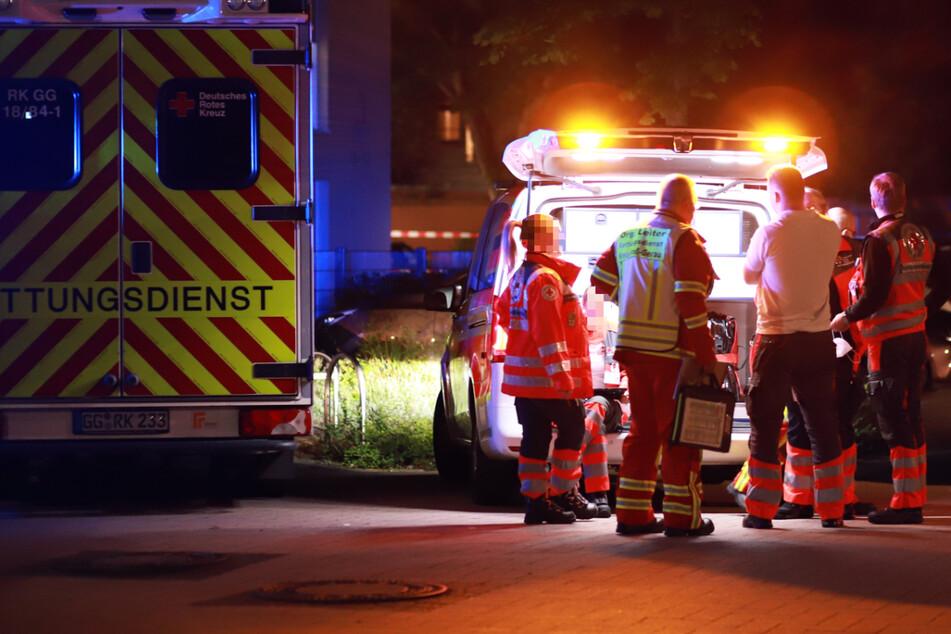Tödlicher Schusswaffen-Gebrauch durch die Polizei in Groß-Gerau: Ein Mann wurde so schwer verletzt, dass er noch am Tatort starb.