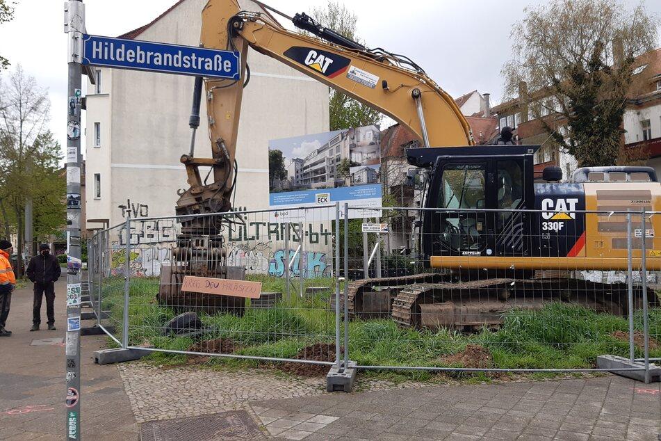 Leipzig: Doch keine Zauneidechsen? Nach Baustopp darf in Leipzig-Connewitz jetzt gebaggert werden!