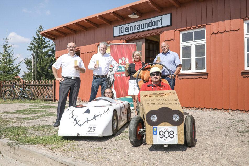 Die Deutsche Meisterschaft im Seifenkistenrennen findet an diesem Wochenende statt.